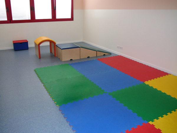 Sala giochi, laboratori, attività -Asilo Nido Peter Pan - Pernumia (Padova)