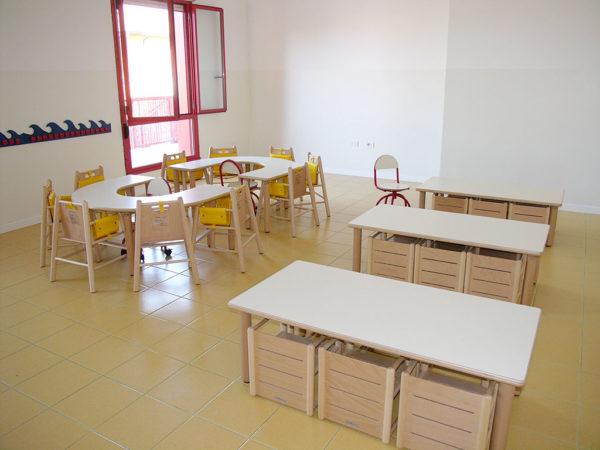 Sala da pranzo - Asilo Nido Peter Pan - Pernumia (Padova)