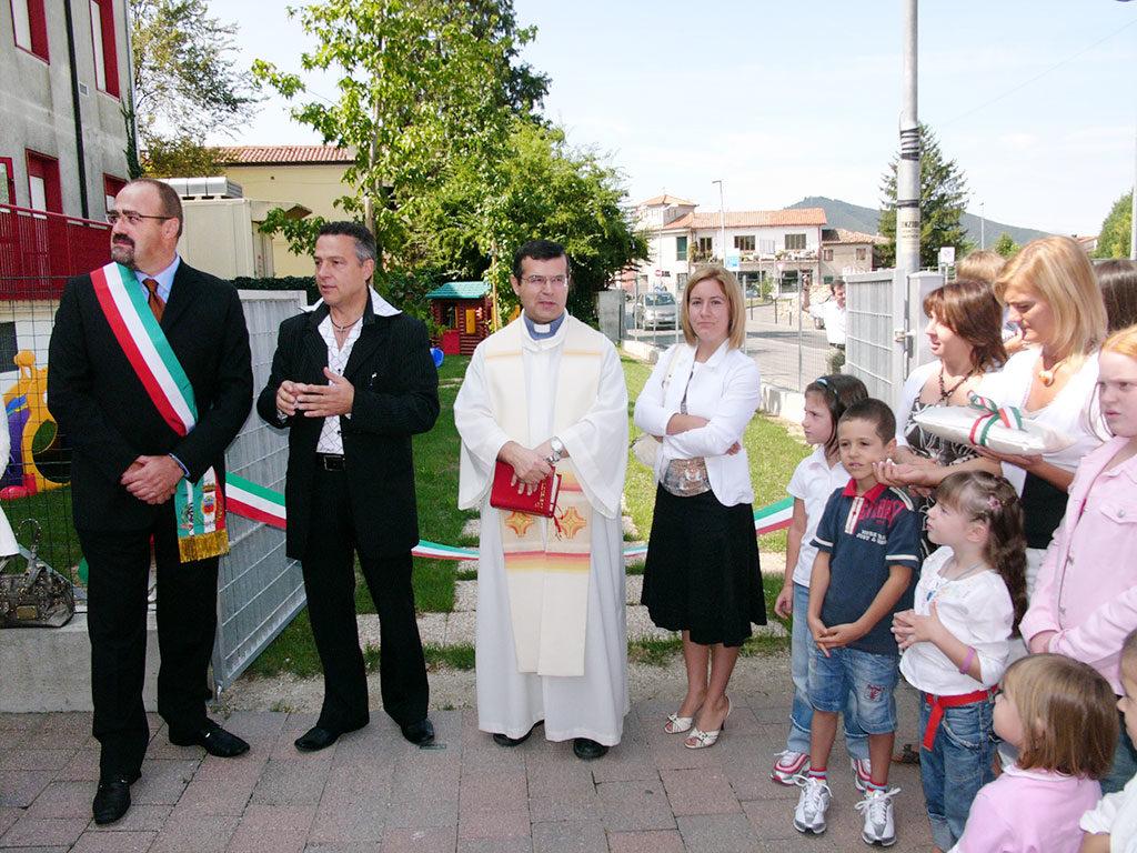 Cerimonia innaugurazione micronido Peter Pan - Nido d'infanzia per bambini dai 3 ai 36 mesi - Pernumia Padova